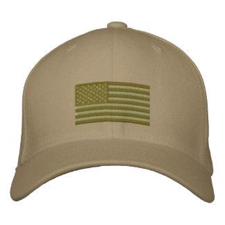 U.S. Bandera - arbolado Gorras Bordadas