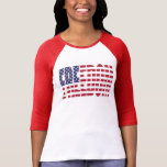 U.S. Bandera de la libertad Camisetas