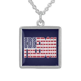 U.S. Bandera de la libertad Grimpola Personalizada