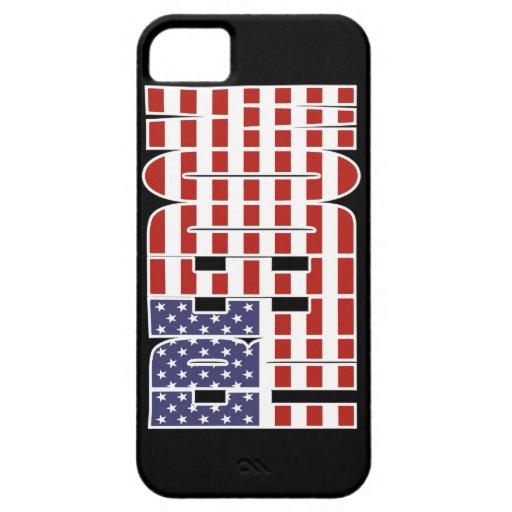 U.S. Bandera de la libertad iPhone 5 Fundas