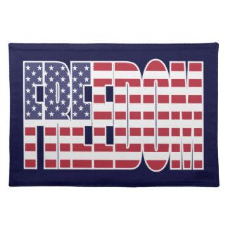 U.S. Bandera de la libertad Mantel