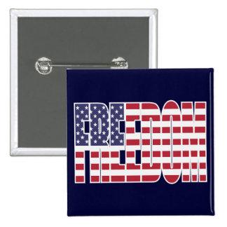 U.S. Bandera de la libertad Pins