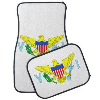 U.S. Bandera de las Islas Vírgenes Alfombrilla De Auto