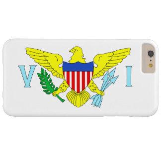 U.S. Bandera de las Islas Vírgenes Funda De iPhone 6 Plus Barely There