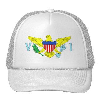 U.S. Bandera de las Islas Vírgenes Gorras