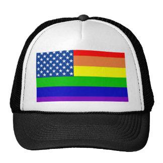 U.S. Bandera del orgullo Gorras De Camionero