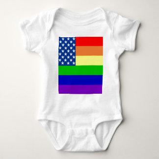 U.S. Bandera del orgullo Polera