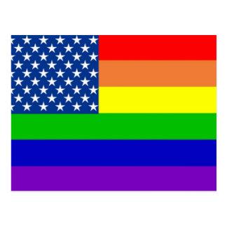 U.S. Bandera del orgullo Postal