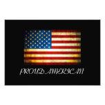 U.S. Bandera del vintage Foto