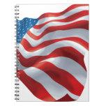 U.S. Bandera Libretas Espirales