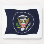 U.S. Bandera presidencial Mousepad del sello Tapetes De Ratones