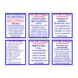 U.S. Bill of Rights Pocket Pamphlet (25ct) Flyer