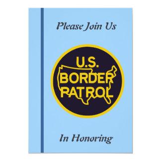 U.S. Boarder Patrol Retirement Invitation