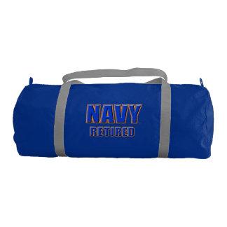 U.S. Bolso jubilado marina de guerra del gimnasio Bolsa De Deporte