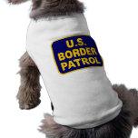 U.S. BORDER PATROL (v189) Doggie T-shirt