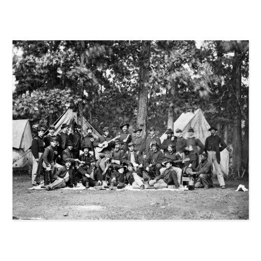 U.S. Brigada de la artillería del caballo: 1863 Postales