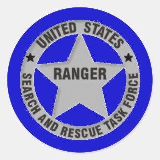 U.S. Búsqueda del guardabosques y grupo de trabajo Etiqueta Redonda