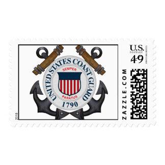 U.S.C.G. POSTAGE STAMP