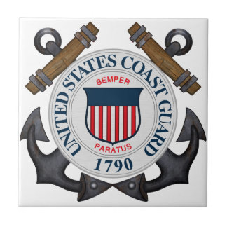 U.S.C.G. SMALL SQUARE TILE