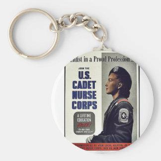 U.S. Cadet Nurse Corps Key Chain