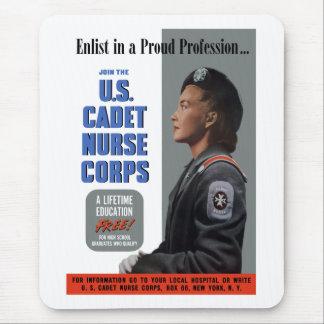 U.S. Cadet Nurse Corps Mouse Pad