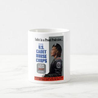 U.S. Cadet Nurse Corps Classic White Coffee Mug