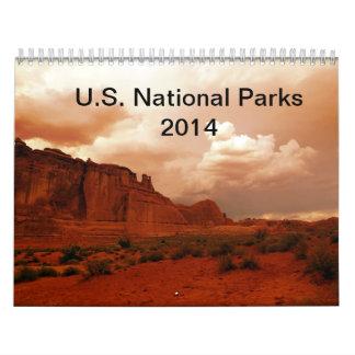 U.S. Calendario del parque nacional