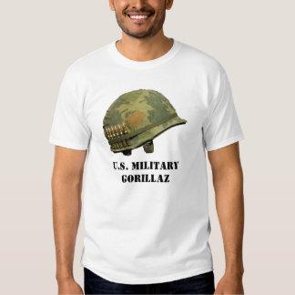 U.S. Camisa militar de Gorillaz