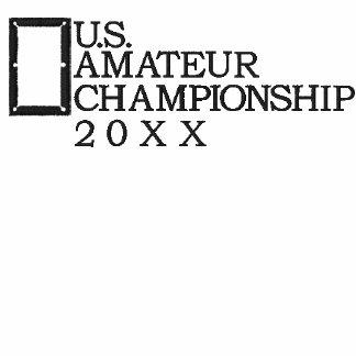 U.S. Campeonato aficionado Polo Bordado