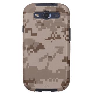 U.S. Camuflaje del desierto de Marpat del Cuerpo d Samsung Galaxy S3 Protectores