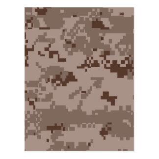 U S Camuflaje del desierto de Marpat del Cuerpo d Tarjetas Postales