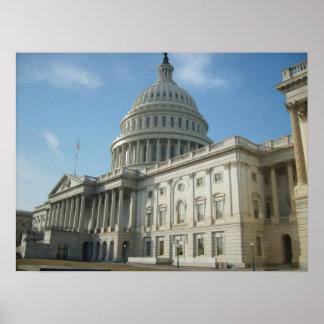 U S Capital Building Washington D C Poster