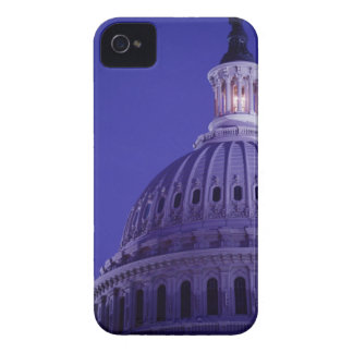 U.S Capitol at dusk with light in dome on iPhone 4 Case