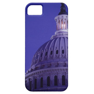 U.S Capitol at dusk with light in dome on iPhone SE/5/5s Case