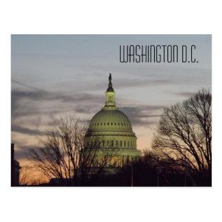 U.S. Capitol Building Dome Washington D.C. Postcard