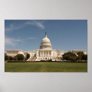 U.S. Capitol Building Poster