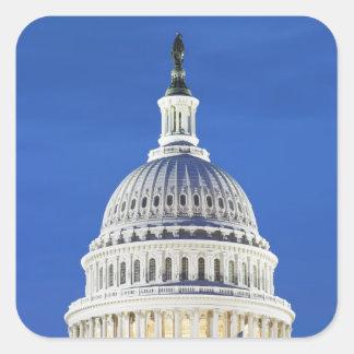 U.S. Capitol dome Square Sticker
