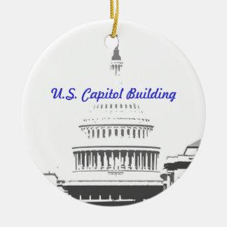 U S Capitol Dome Washington D C Christmas Tree Ornaments