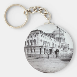 U.S. Capitol, July 1863 Keychain