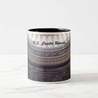 U.S. Capitol Rotunda Two-Tone Coffee Mug