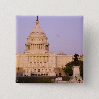 U.S. Capitol, Washington D.C. (District of Pinback Button