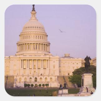 U.S. Capitol, Washington D.C. (District of Square Sticker