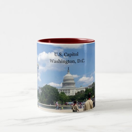 U.S. Capitol, Washington, D.C. Two-Tone Coffee Mug