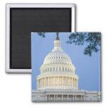 U.S. Capitolio en la oscuridad, C.C. de Washington Imán Cuadrado