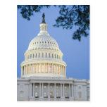 U.S. Capitolio en la oscuridad, C.C. de Washington Postales