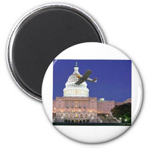 U.S. Capitolio Iman Para Frigorífico