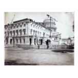 U.S. Capitolio, julio de 1863 Tarjeta Postal