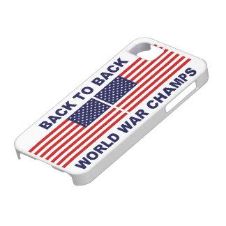 U S Caso del iPhone 5 de los campeones de la guer iPhone 5 Case-Mate Cárcasa