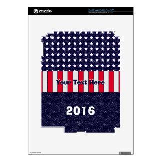 U.S. Celebración patriótica de festividades iPad 2 Skins