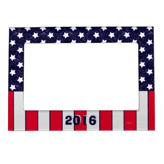 U.S. Celebración patriótica de festividades Marcos Magneticos Para Fotos